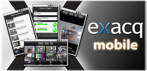 exacqVision iPhone & iPad App