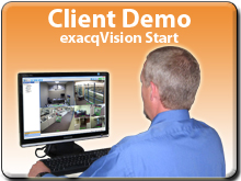 try exacqVision Start Client Software