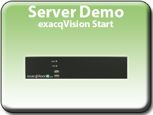 Try exacqVision Start Server Software